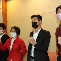 Interparty press conference held in support of southern Taiwan city councilor