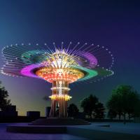 2021台灣燈會動起來!豪華朗機工108根孟宗竹、216片玻璃打造17公尺主燈