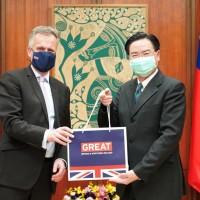 New British representative to Taiwan takes office