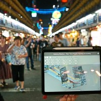 Northern Taiwanese city uses AI to manage pedestrian flow at night market