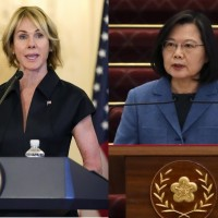 President Tsai holds videoconference with US envoy to UN after canceled Taiwan trip