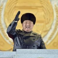 金正恩北韓夜間大閱兵 稱將壯大核武以對抗美國制裁