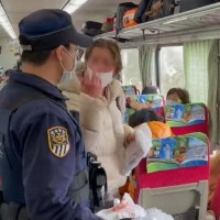 Video shows foreign woman lash out when asked to wear mask on Taiwan train