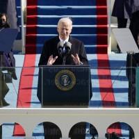 Assuming U.S. presidency, Biden calls for end to 'uncivil war'