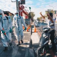 化學兵出動 桃園醫院、社區大消毒