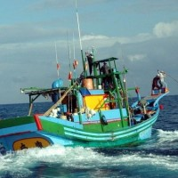 Taiwanese fishing boat detained in Indonesia for illegal fishing