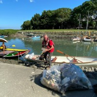 British national cleans up Taipei's rivers