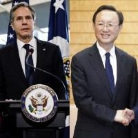 美國務卿與北京高層通話 關切中共威脅台灣海峽