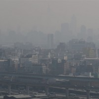 Air quality drops to unhealthy levels in large parts of Taiwan