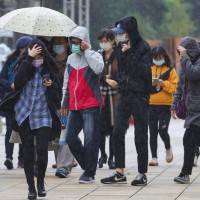 Northern Taiwan to see 5 days of cold rain over LNY holiday