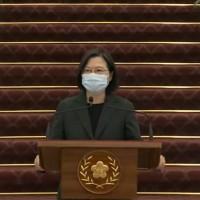 台灣春節連假前夕 蔡總統召開國安高層會議•重申兩岸和平關鍵鑰匙在中國