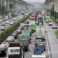 Northeast Taiwan likely to see traffic jams until 11 p.m.