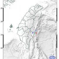 Magnitude 4.4 earthquake shakes southeast Taiwan