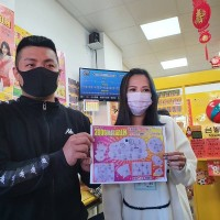 20-year-old Taiwanese wins NT$1 million playing scratchcards