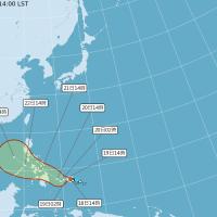 今年首颱「杜鵑」生成!下週二起東半部有局部短暫雨