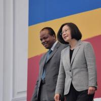 感謝蔡總統贈治療藥物 史瓦帝尼國王染疫痊癒