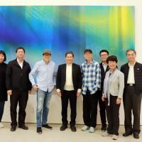李永得訪台東藝術家江賢二 打造東台灣成為亞洲藝術文化聚落