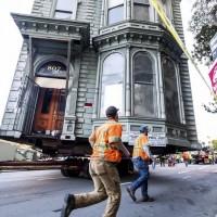 【行走的房子】 舊金山老宅「整棟」搬家 工程浩大斥資千萬
