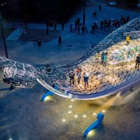 Whale installation in southern Taiwan wins US lighting award
