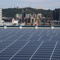 Taiwan president vows to push on with solar energy