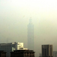 Heavy air pollution hammers northern Taiwan