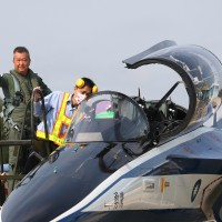 Taiwan tests first two indigenous Brave Eagle jet trainers to replace F-5s