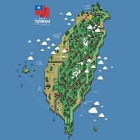 Photo of the Day: Super Mario map of Taiwan