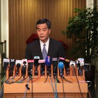 Former Hong Kong chief C.Y. Leung does not rule out return to post