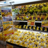 Taiwanese pineapples getting extensive media coverage in Japan