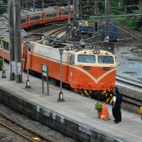 Taiwan Railways employees protest over reduced salaries