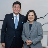 Japan's defense minister makes rare statement about Taiwan