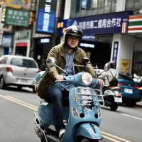 Keelung mayor touring half of Taiwan on scooter