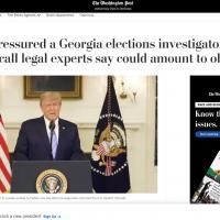 華郵認1月舊聞「錯誤引述川普」已更正 FOX諷新聞做假