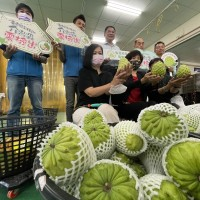 Eastern Taiwan county exports pineapple custard apples to Dubai instead of China