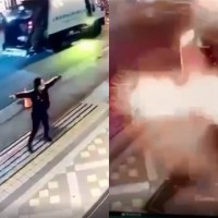 Video shows man hurl 2 grenades at Taipei hostess bar