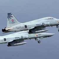 1 pilot killed after 2 Taiwan F-5E fighter jets collide in mid-air