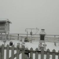 台灣玉山降下「三月雪」 積雪一公分 估中午前皆有機會賞雪