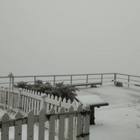Video shows snow falling on Taiwan's Yushan