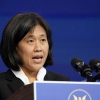 USTR's Tai highlights China, climate in talks with Japan, France, others