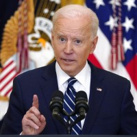Biden says he will hold China accountable for actions on Taiwan