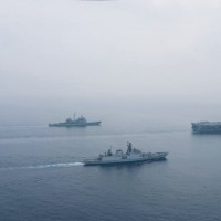 US and India hold 2-day naval drill to counter China