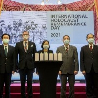 Taiwan remembers victims of Holocaust