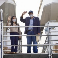 惠恕仁總統結束台灣行 將與「台帛旅遊泡泡」首發團、同班機返回帛琉