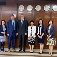 Taiwan discusses strategy for international organizations with US