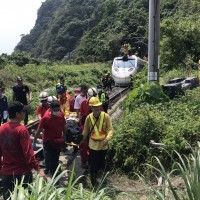 (Update) Reported death toll in Taiwan train derailment is 50