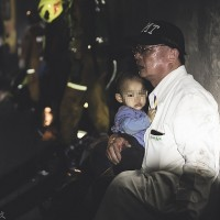 Photo of doctor comforting child after Taiwan's train accident warms hearts