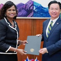 Belize's incoming ambassador to Taiwan presents credentials