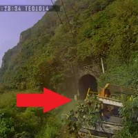 Video shows Taiwan train driver had only 7 seconds to stop