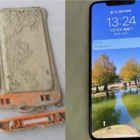 iPhone missing for 1 year found after Taiwan's Sun Moon Lake recedes