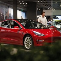 Tesla tells China car cameras not activated outside North America